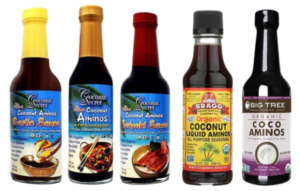 Coconut Aminos In A Grocery Store