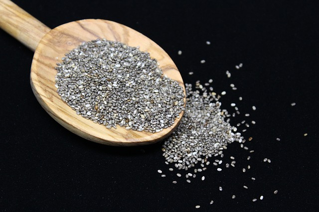 Chia Seeds In A Grocery Store