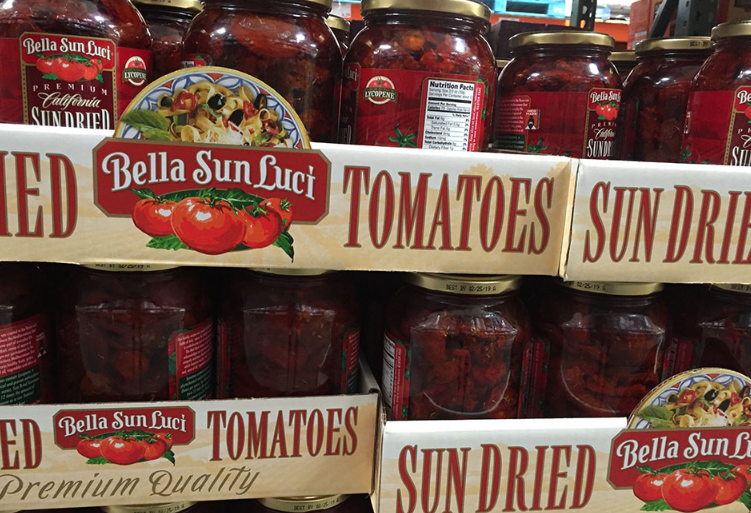 Sun Dried Tomatoes In Grocery Store