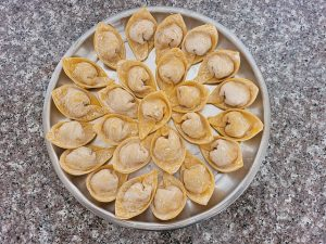 Wonton Wrappers in Grocery Store